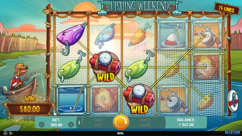 Fishing Weekend :: Multiple winning paylines