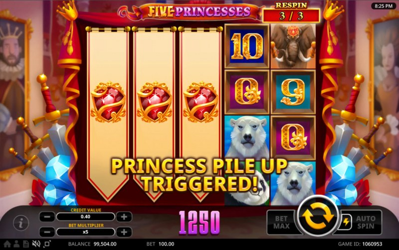 Five Princesses :: Feature triggered