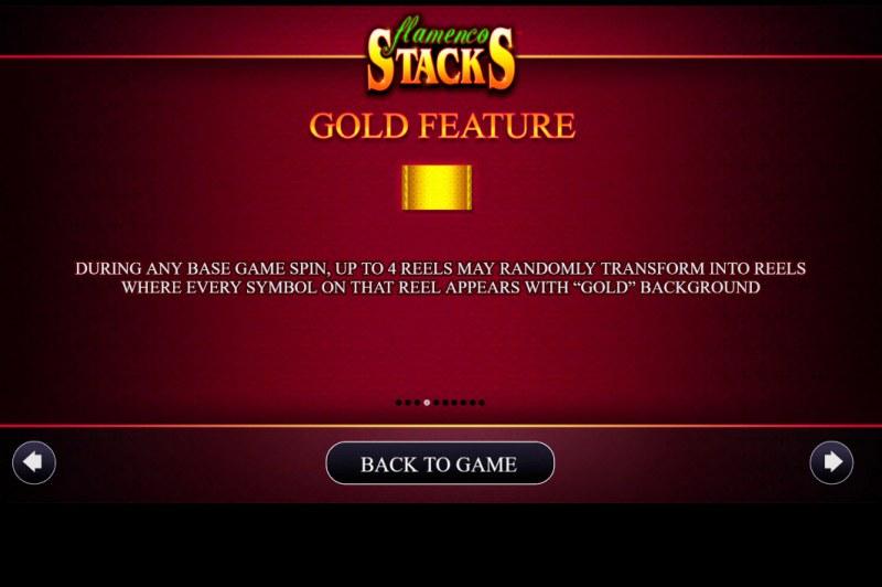 Flamenco Stacks :: Gold Feature