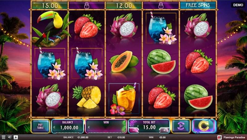 Flamingo Paradise :: Main Game Board