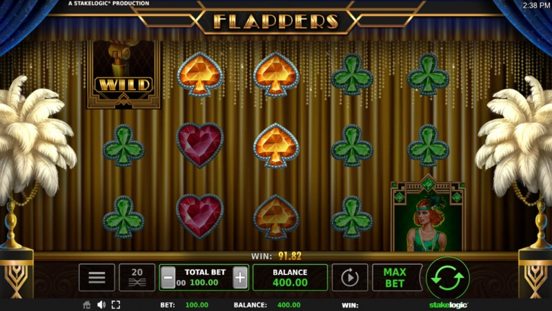 Flappers :: Three of a kind win
