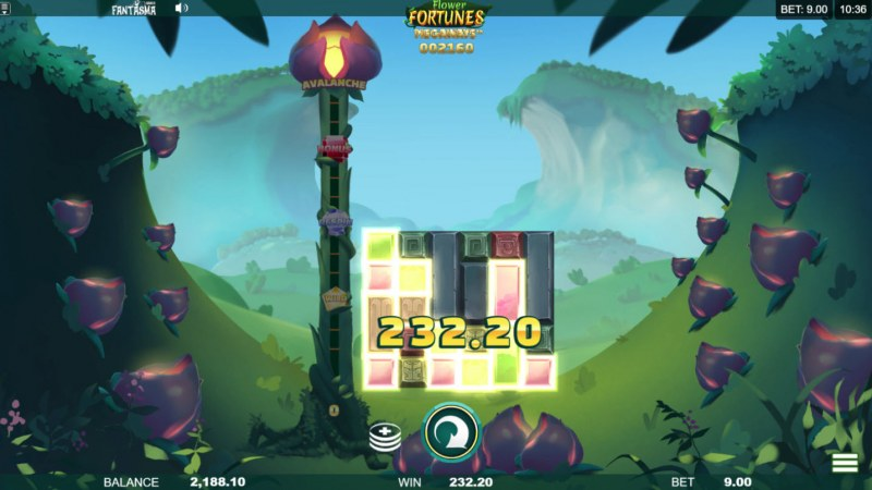 Flower Fortunes Megaways :: Multiple winning combinations