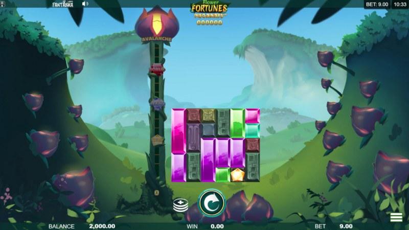 Flower Fortunes Megaways :: Main Game Board