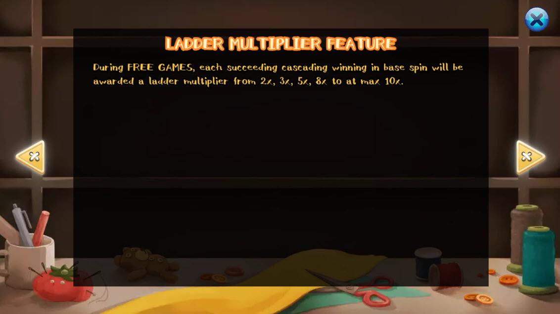 Fluffy Buddy :: Ladder Multiplier Feature