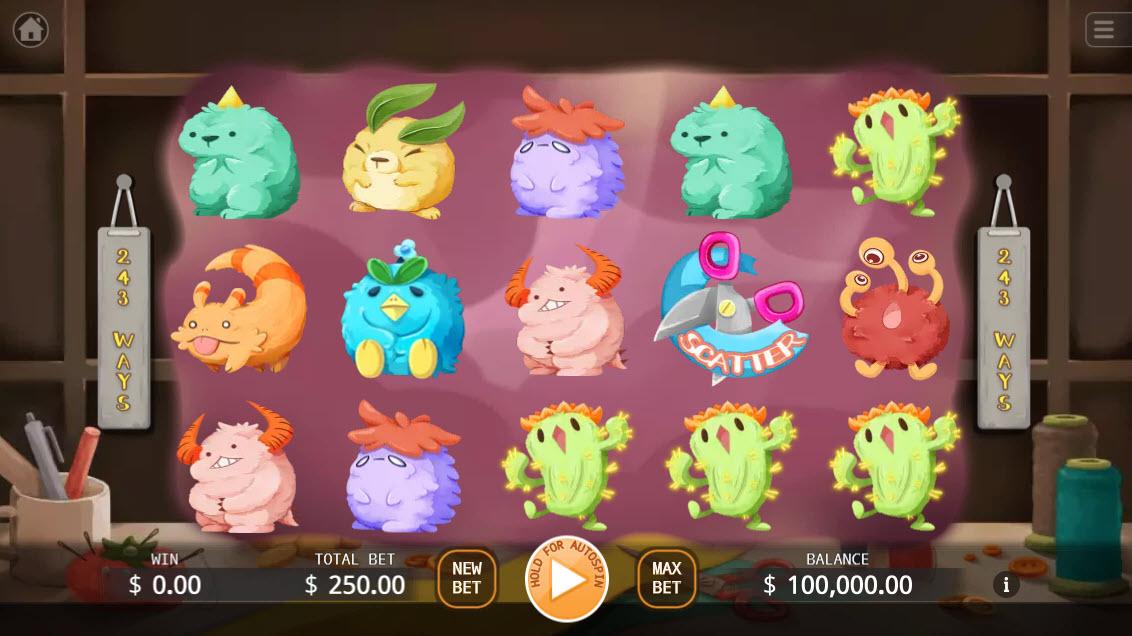 Fluffy Buddy :: Main Game Board