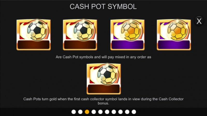 Football Cash Pots :: Cash Pot Symbol