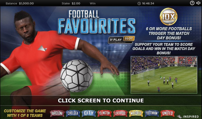 Football Favourites :: Introduction