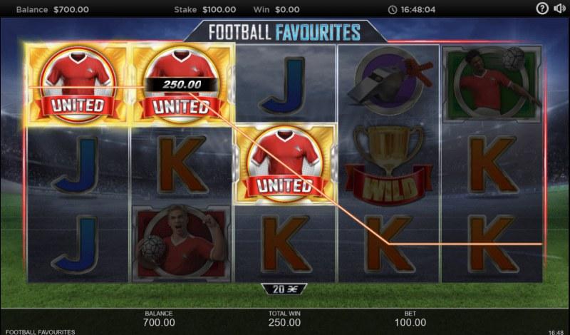 Football Favourites :: Three of a kind