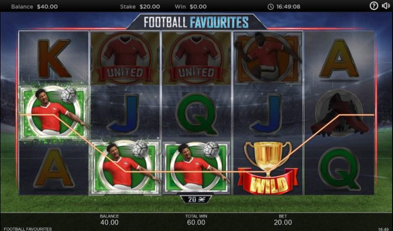 Football Favourites :: Four of a kind