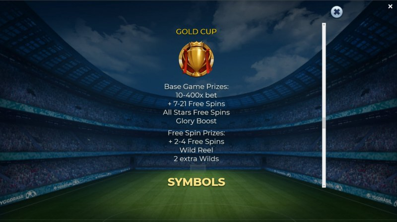 Football Glory :: Gold Cup