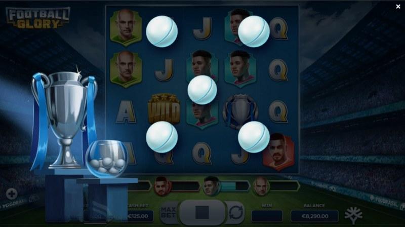 Football Glory :: Pick a ball and win that amount