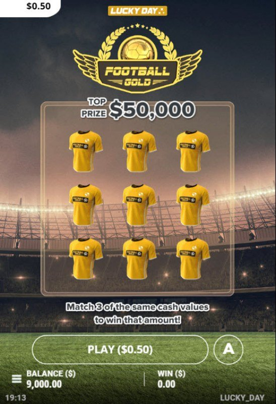 Football Gold :: Main Game Board