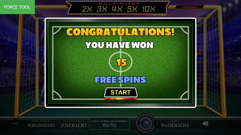 Football Pro :: 15 Free Games Awarded