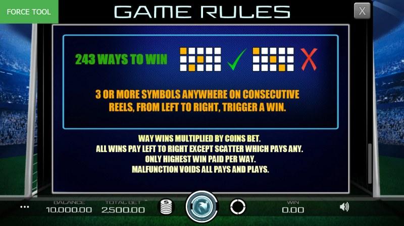 Football Pro :: 243 Ways to Win