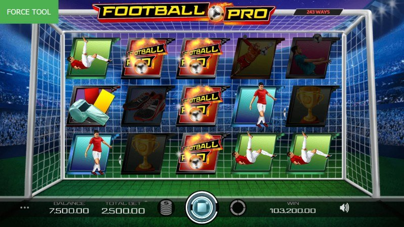 Football Pro :: Multiple winning combinations leads to a big win
