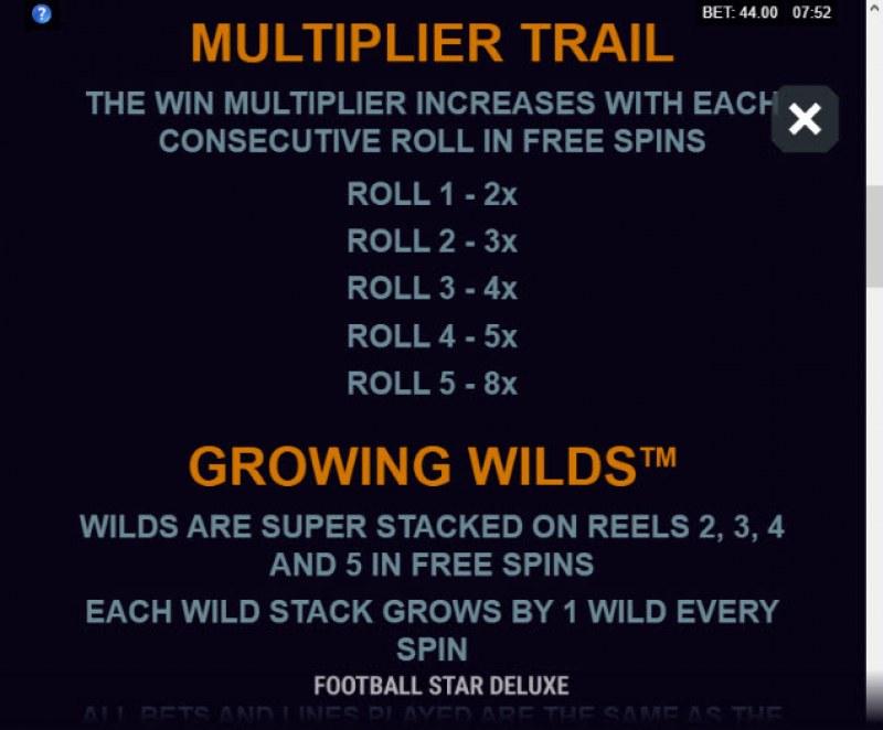 Football Star Deluxe :: Multiplier Trail