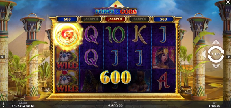 Force of the Gods :: Instant Cash Prize Awarded