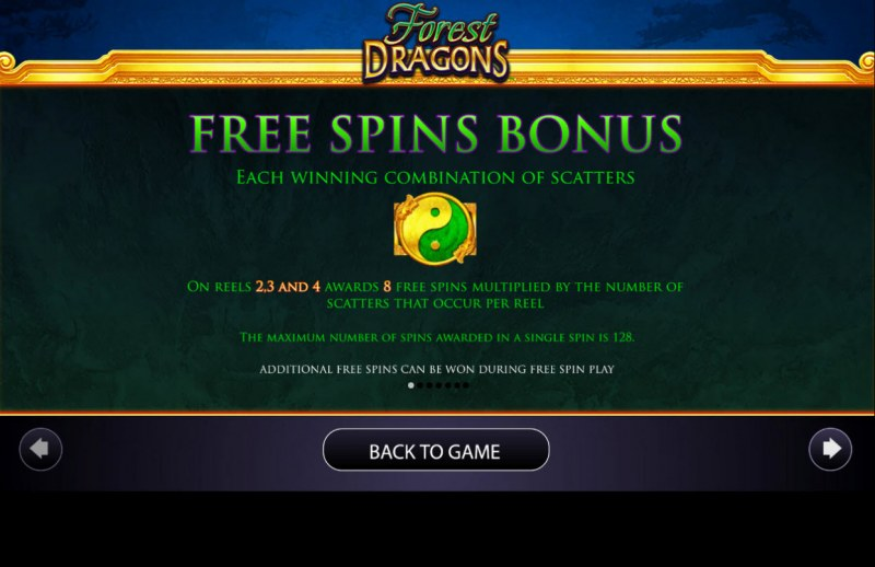 Forest Dragons :: Free Spins Rules