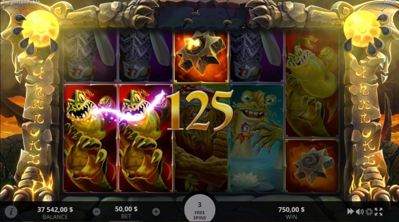 Forgotten Fable :: Free Spins Flameland