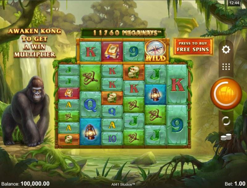 Forgotten Island Megaways :: Main Game Board