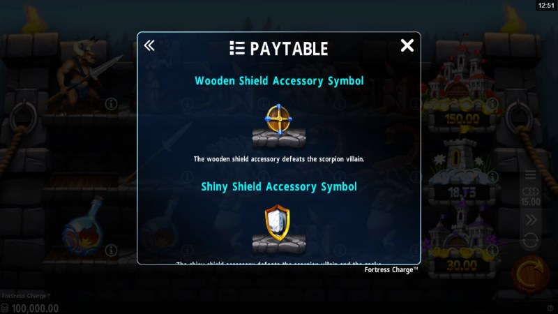 Fortress Charge Reel Quest :: Accessory Symbol