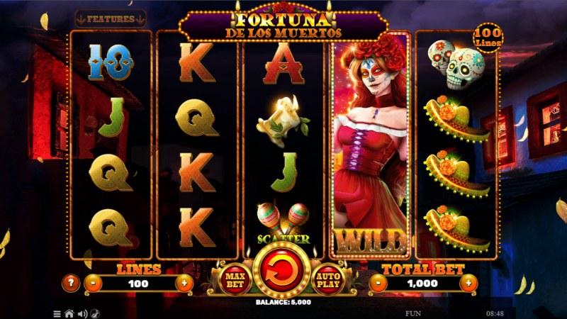 Fortuna De Los Muertos :: Base Game Screen