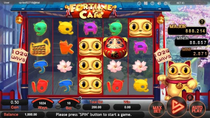 Fortune Cat :: Main Game Board
