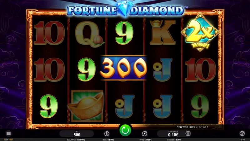 Fortune Diamond :: Three of a kind