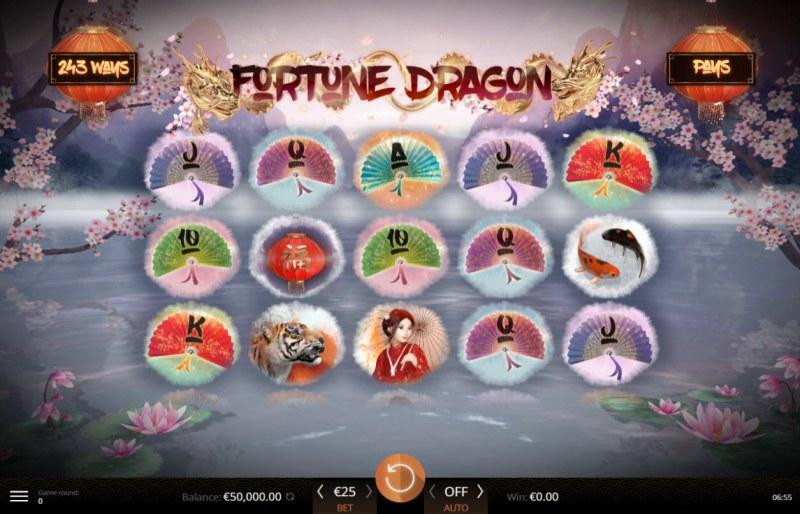 Fortune Dragon :: Main Game Board