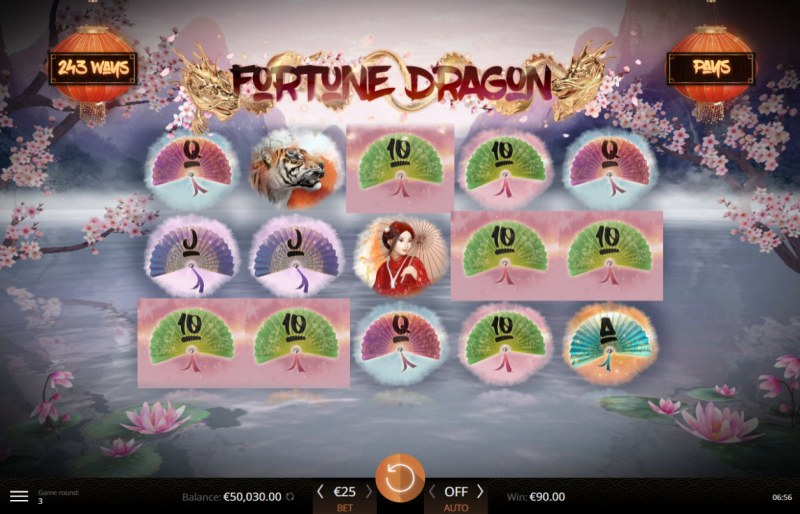 Fortune Dragon :: Multiple winning combinations