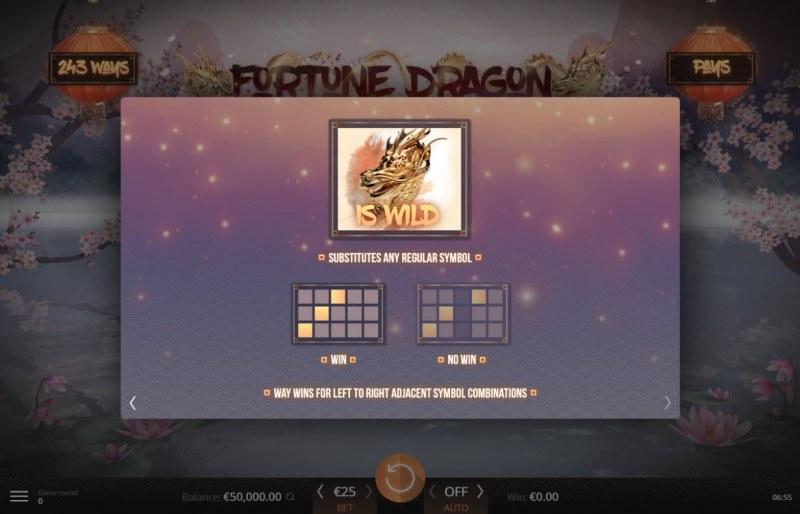 Fortune Dragon :: Wild Symbols Rules