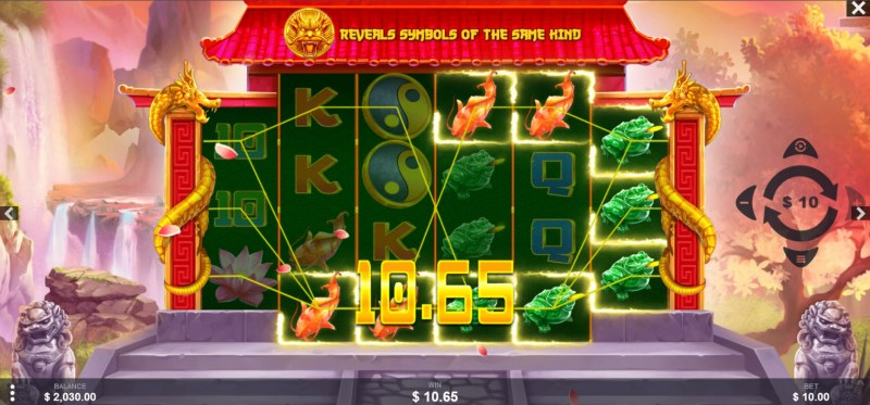Fortune Dragons :: Multiple winning paylines