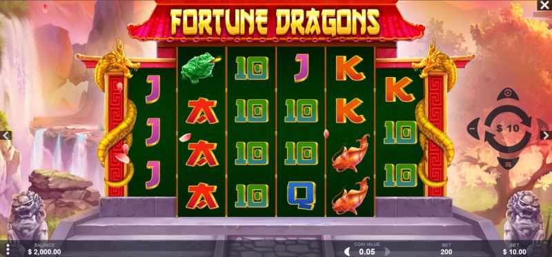 Fortune Dragons :: Main Game Board