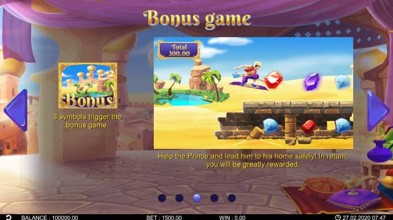 Fortune Genie :: Bonus Game Rules
