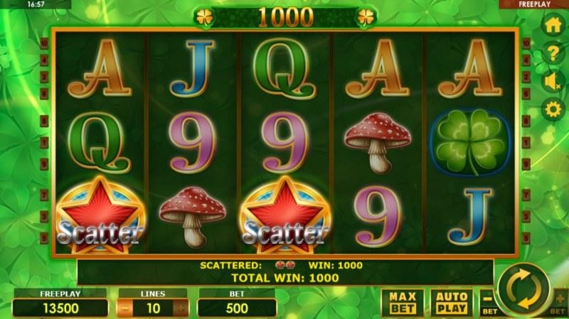 Fortune Girl :: Scatter Win