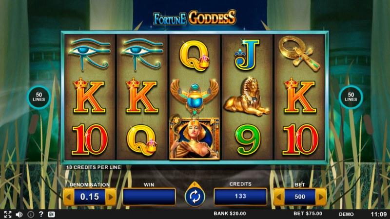 Fortune Goddess :: Main Game Board