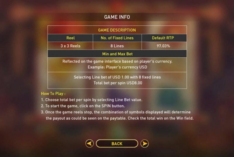 Fortune Hong Bao :: General Game Rules