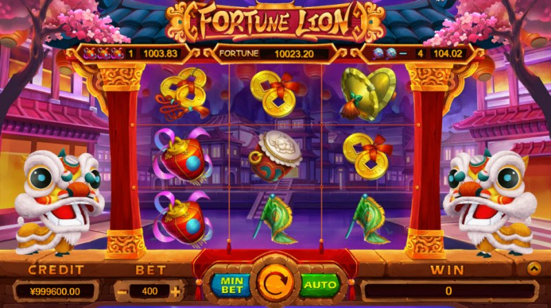 Fortune Lion :: Main Game Board