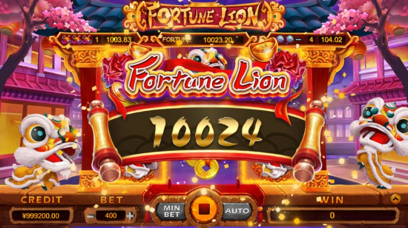 Fortune Lion :: Big Win