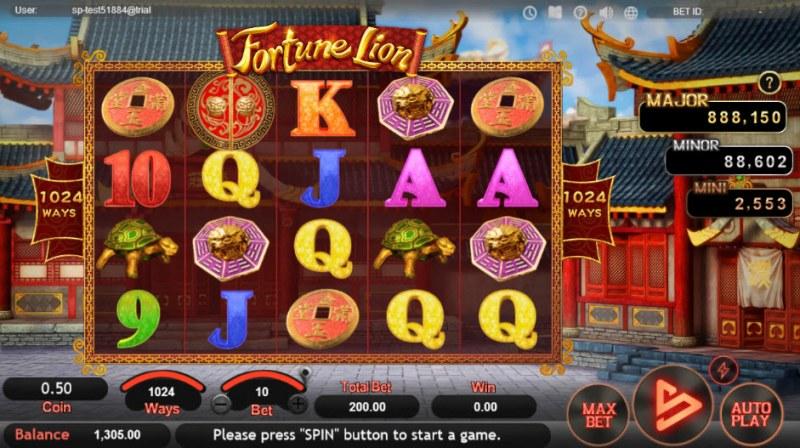 Fortune Lion :: Main Game Board