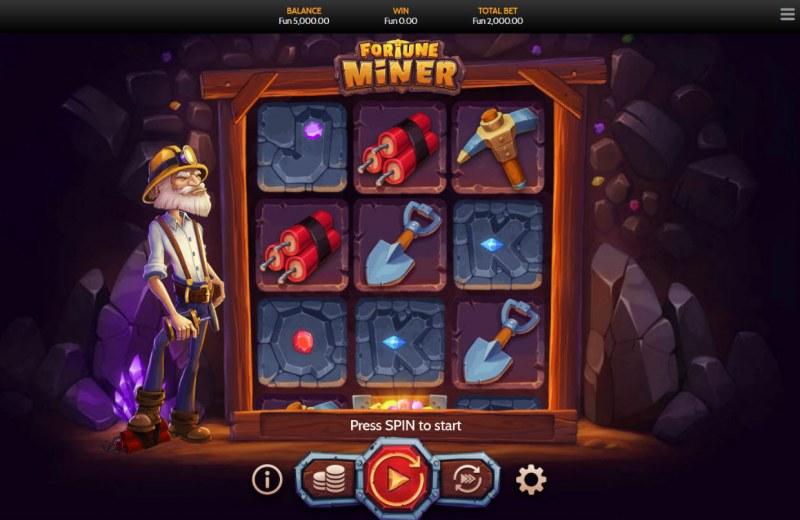 Fortune Miner :: Main Game Board