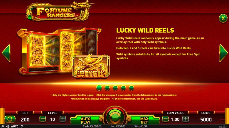 Fortune Rangers :: Lucky Wild Reels