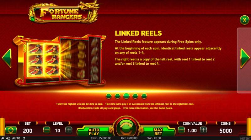 Fortune Rangers :: Linked Reels