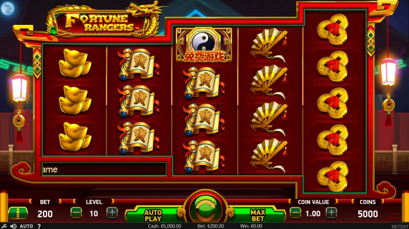Play slots at Ladbrokes: Ladbrokes featuring the Video Slots Fortune Rangers with a maximum payout of $152,000