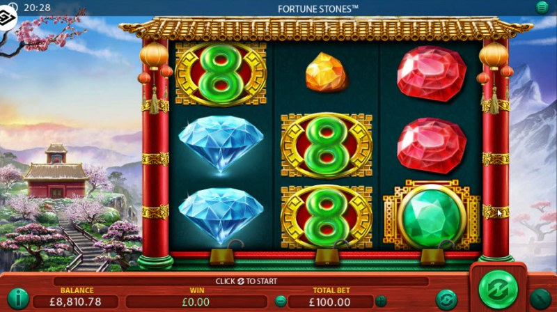 Fortune Stones :: Main Game Board