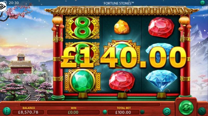 Fortune Stones :: Scatter Win