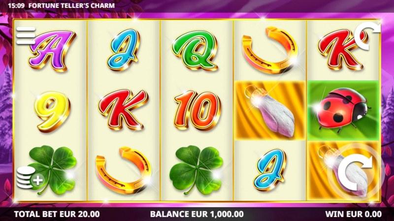 Fortune Tellers Charm :: Main Game Board