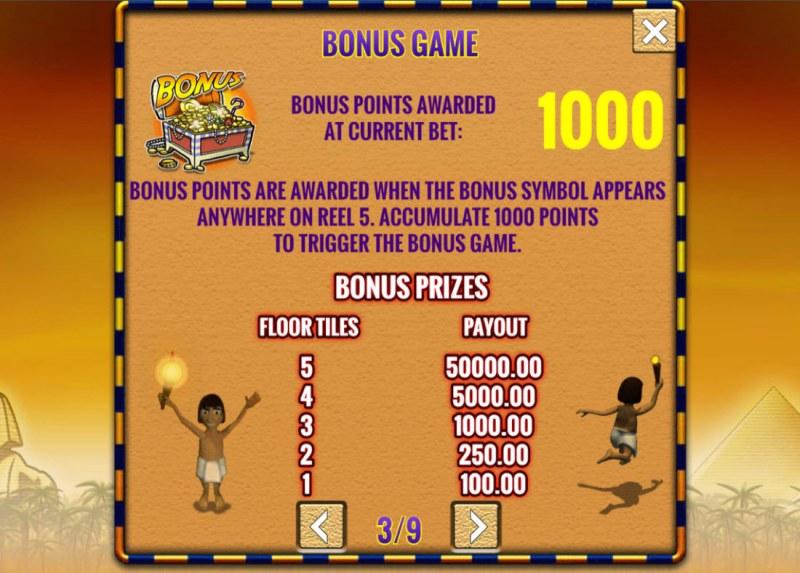Fortunes of Egypt :: Bonus Feature