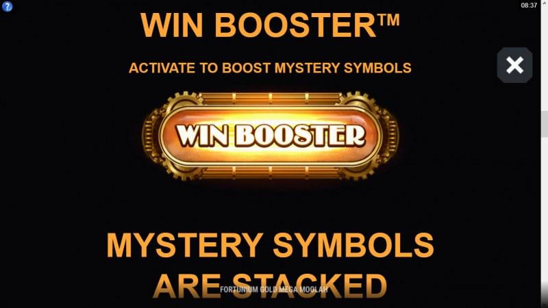 Fortunium Gold Mega Moolah :: Win Booster