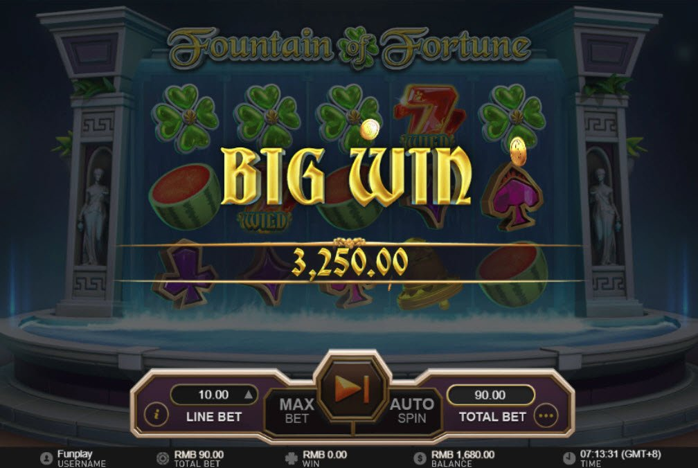 Fountain of Fortune :: Big Win